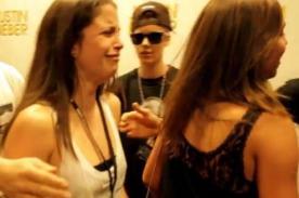 Justin Bieber: Llanto e histeria en los Meet & Greet - Video