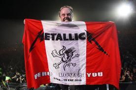 Metallica volverá a Lima para explosivo concierto en marzo