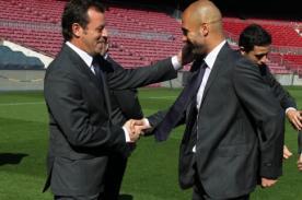 Sandro Rosell: Pep Guardiola tiene las puertas abiertas del Barcelona