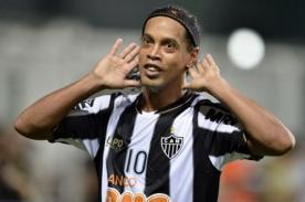Besiktas: Estas son las exigencias de Ronaldinho para llegar a Turquía
