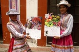 Arequipa: Innovador calendario con 1.000 nombres quechuas