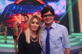 Lali Espósito remece el set de Combate - Video