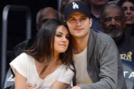 Ashton Kutcher, el más consentidor con embarazo de Mila Kunis
