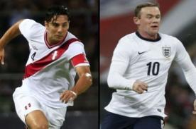 ¿En qué canal se transmitirá el amistoso Perú vs Inglaterra?