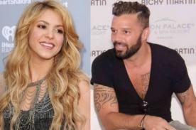 Ricky Martin desea cantar a dúo con Shakira