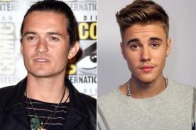Pelea entre Justin Bieber y Orlando Bloom