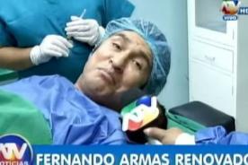 ¡Fernando Armas renueva su rostro! ¿Cómo luce ahora el cómico? [Video]