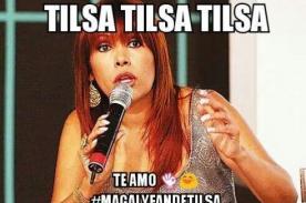 ¡GUERRA! ¡Tilsa Lozano se burla de Magaly Medina con estos memes!