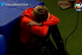 Combate: ¿Macarena Gastaldo hace 'show' para no participar en la competencia? - VIDEO
