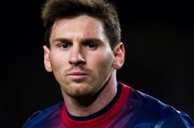 Messi recibe travieso regalo de atrevida modelo - FOTOS