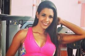 Rocío Miranda consuela a fans de Universitario de Deportes con fotazo de infarto - FOTO