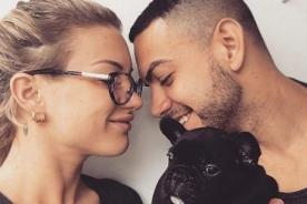 ¿Leslie Shaw y Coto Hernández ya se lucen como enamorados con esta foto?