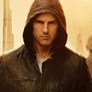Tom Cruise en el póster de Mission: Impossible - Ghost Protocol