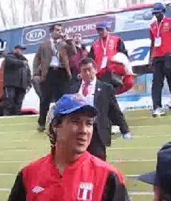 Copa América 2011: Perú llegó al estadio Malvinas con gran número de efectivos policiales