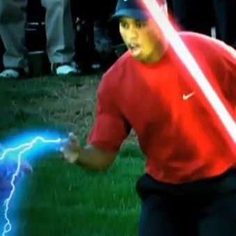 Video: Tiger Woods es Darth Vader en anuncio del Masters Golf 2011