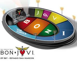 Bon Jovi en Lima: Ultimas Entradas y Precios. Información de Septiembre