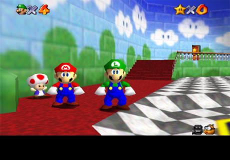 Super Mario 64: Esta es la razón por la que Luigi no apareció y ahora lo sabes