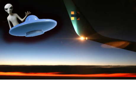 Piloto reporta 'luces extrañas' minutos después el resultado fue 'escalofriante'