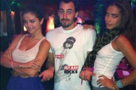 Selena Gomez disfruta estadía en Chile con actores