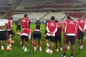 Fútbol Peruano: Selección reconoció el campo del Estadio Nacional