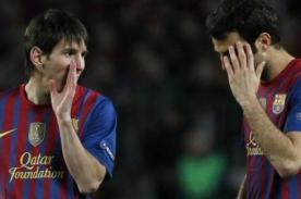 Barcelona: Cesc Fábregas pensaba que Lionel Messi era mudo