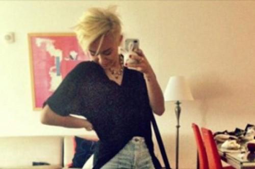 Hija de Michael Jackson adora el corte de cabello de Miley Cyrus