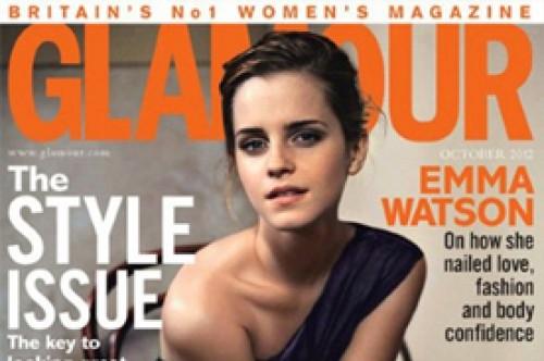 Emma Watson luce sencilla y sofisticada en revista Glamour UK