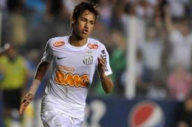 Video: Neymar anota golazo en su partido 200 con Santos - Brasileirao