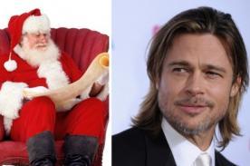 Brad Pitt confiesa no ser fan de Papá Noel