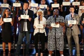 Elenco de The Voice cantó en memoria de las víctimas del huracán Sandy