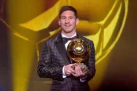 Balón de Oro 2012: Lionel Messi es el mejor jugador e hizo historia - Video
