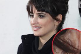 Explican razón de los singulares 'piercings' de Penélope Cruz