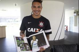 Paolo Guerrero se estampa en la historia del Corinthians