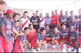 Perú vs. Chile: Óscar Avilés y Gastón Acurio visitan a la Selección