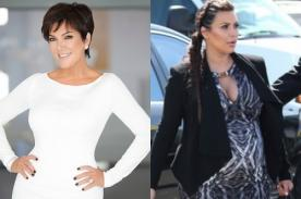 Madre de Kim Kardashian defiende nombre de su nieta