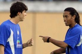 Luiz Felipe Scolari: La puerta está abierta para Kaká y Ronaldinho