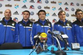 Claudio Vivas: Vengo a buscar el título con Sporting Cristal