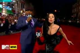MTV VMA 2013: Perez Hilton critica el look de Lady Gaga en la alfombra