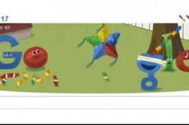 Google: Truco para obtener más caramelos con el Doodle de la piñata