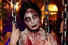 Fotos: Demi Lovato luce irreconocible como un aterrador zombie en Halloween