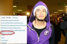 Reimond Manco es tendencia en Twitter luego de ser ampayado borracho