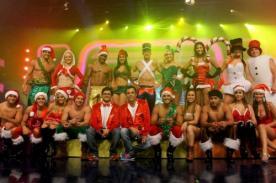 Integrantes de 'Combate' celebran Navidad con sexys atuendos - Fotos