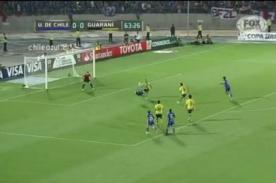 Copa Libertadores: Universidad de Chile avanza con gol de chalaca (video)