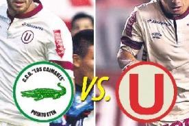 Los Caimanes vs. Universitario: Transmisión en vivo por GolTV - Copa Inca 2014