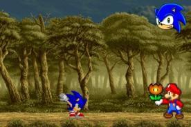Friv2014: Alucinante versus entre Mario Bros y Sonic con juego Friv de Sonic