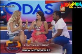 Sully Sáenz regresa a las pantallas a un mes de dar a luz (Video)