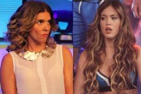 Jazmín Pinedo niega haber peleado con Johanna San Miguel en comerciales