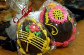 Semana Santa 2014: Receta para hacer Huevos de Pascua caseros - VIDEO