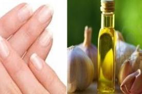 Ajos y aceite de oliva garantizan uñas fuertes