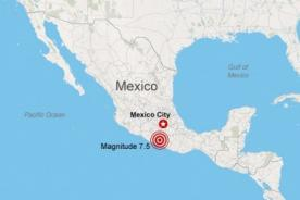 Terremoto de 7,5 grados azota México